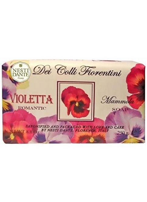 Nestidante Deı Collı  Fıorentını Romantıc Vıoletta Sabun 250 Gr Renksiz